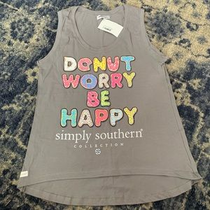 Simply Southern Donut Tank Top